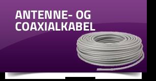 Antenne- og coaxialkabel