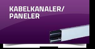 Kabelkanaler/paneler