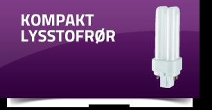 Kompakt lysstofrør
